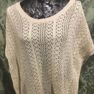 Sonoma Poncho Sweater, XL